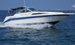 This Sea Ray was built to entertain and impress. 2018 added electric flush conversion kit, new bellows and gimbal ring. A/C 3 years old.  Nominal Length: 27' Length Overall: 28.6' Max Draft: 3' Engine(s): Fuel Type: Other Engine Type: