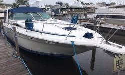 New Listing! Motivated Seller! The 350 Sundancer has generous dimensions that makes this express-style boat exceptionally qualified for cruising and entertaining. Nominal Length: 35' Length Overall: 39.4' Length Of Deck: 36.8' Max Draft: 2.4'