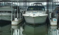 LOTS OF UPGRADES: **SATELITE TV**BOW THRUSTERS**NEWER CANVAS** **PURASAN WASTE TREATMENT CENTER** Low Hour CAT 3208TA Diesels MOTIVATED SELLER - BRING ALL OFFERS 1990 Sea Ray 420 Sundancer - A high style boat, this classic Sundancer has what it takes to