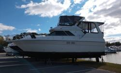 1990 Sea Ray 380 Aft Cabin The 1990 Sea Ray 380 Aft Cabin is a perfect Addition to Any Family. This Boat Is Designed and Built With More Than 40 Years of Sea Ray Tradition Behind It. This Boat Has Plenty of Speed and Performance Topsides. Not to Mention