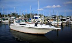 1990 42' Sea Ray Sundancer -- Well Maintained Vessel in Great ConditionLoaded with Upgrades: Raymarine + Garmin Electronics, BOSE Sound, Fridgibar Refrigerator / Freezer System, Spare Props, New Cockpit Carpeting + Much More!!*****Owner Moving Up -- Bring