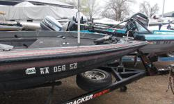 PROJECT BOAT 1990 Nitro bass boat, sold as is. This boat needs some TLC. We are selling this boat and trailer only, NO motor included. Nominal Length: 20'