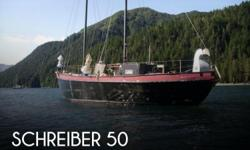 Actual Location: Seward, AK - Stock #070903 - If you are in the market for a schooner sailboat, look no further than this 1991 Schreiber 50, priced right at $66,700 (offers encouraged).This vessel is located in Seward, Alaska and is in good condition. She