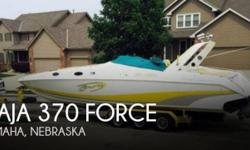 Actual Location: Omaha, NE - Stock #083232 - If you are in the market for a high performance, look no further than this 1991 Baja 370 Force, priced right at $38,900 (offers encouraged).This vessel is located in Omaha, Nebraska and is in great condition.