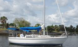1991 Catalina 30 MK2 Sailboat 5859 Wing Keel Current owner is USCG licensed Unlimited Chief Engineer who has documented all repairs and inspections since 2015. An electric dehumidifier is used in summer to keep the inside mildew free. The boat is