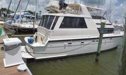"""A CLASSIC BEAUTY Whether it is living aboard, a long cruise or just an afternoon by the dock, this impeccablerepresentationof the most popular Hatteras is a must see. With an anxious seller who is moving his business see """"No Worries"""" first."""