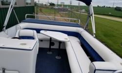 *Passenger Capacity: 16 *Good cover *Boat condition good for age *Seats need repair on top *Trailer option available - additional cost Standard features: *Passenger Capacity: 16 *Good cover *Boat condition good for age *Seats need repair on top *Trailer