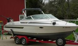 1991 Tiara Sports 220 Cruiser 22 Tiara Cruiser. Rare find! This size only built 2 years. Most Tiaras yachts over 27 A trailer able boat you can run anywhere the fish are biting. You dont have to stop fishing just because the water gets rough. This boat