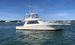 Every inch of this yacht has been updated and upgraded  Engines are up to date on service-Coolers in 2017 Engines Recently Rebuilt. 100 hours on Port & 500 hours on Starboard since Rebuild.  15KW Onan Generator w/ 3400hrs  New Starboard
