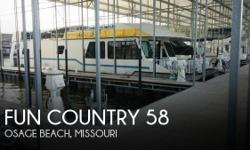 Actual Location: Osage Beach, MO - Stock #112048 - If you are in the market for a house, look no further than this 1992 Fun Country 58 x 14, just reduced to $62,000 (offers encouraged).This vessel is located in Osage Beach, Missouri and is in good