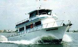 1992 65' Bonner Custom Enclosed Bridge Coast Guard Certified Passenger Fisherman .Twin Premium Caterpillar Diesels - low hours, new generator and fully air-conditioned. Galley, two heads with showers, and overnight sleeping accommodations for 15+ crew.
