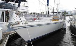 Desirable 3 Cabin, 2 Head layout Pullman master forward w/large separate shower Two aft guest cabins share guest head Reverse Cycle Air 'n Heat New Dodger in 2018In Mast Furling Main SailHypalon Dinghy on Davits Yamaha 15 hp two stroked outboard Outboard