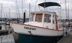 The Eagle 32 is a spacious trawler known for its classic lines and efficient use of interior spaces.  The current owner has gone through her mechanical systems, updating and refitting as needed.  She is now a turnkey vessel for her next owners