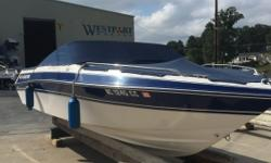 1992 Four Winns 200 Horizon. OMC 5.8 litre v8 ( Ford 351) . Carbureted engine, not fuel injected. Boat is in great shape for age, interior nice, has a few spots as to be expected with age. Exterior in good shape. Has been kept inside for some years.