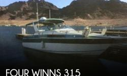 Actual Location: Boulder City, NV - Stock #096965 - Ready for some fun on the water?Cabin offers a midcabin interior with double berths fore and aft, convertible dinette, full galley and head with shower. Roomy cockpit seats six in comfort. When Four