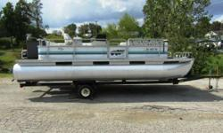 Decent older pontoon, motor runs good! - Sun Cruiser SS 201 Nominal Length: 19' Engine(s): Fuel Type: Other Engine Type: Outboard