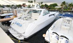 1992 Sea Ray 500 This Sea Ray is in Great Shape and with Twin 800 HP Diesel Engines it's Ready To Go! ? Twin Scania 800 HP (New In 2004) ? Twin Disc Transmission (New In 2004) ? Northern Lights Generator Beam: 1 ft. 3 in. Stock number: 92SR50