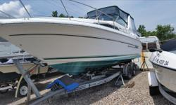 **** JUST REDUCED 08/13/2017, $7,500.00 BUY NOW FOR $18,000.00 **** 1992, SEA RAY, 290, Sundancer, Radar Arch, Full Canvas Enclosure, Clear Isinglass, Model: 290DA1434, Shore Power, Trim Tabs, Sterndrive, Mercruiser, I/O's, 4.3 L Twin's, Fold Down