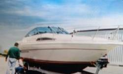 1992 Sea Ray 290 Sundancer 1992 SeaRay 29 Sundancer Sleeps 6 and ready to go Full camper enclosure Galley Air-heat Generator Windless Marine radio Anchor Stove AM-FM Shower Swimplatform Swim Ladder Located in Covington IN Financing Nationwide Shipping and
