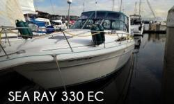 Actual Location: Tacoma, WA - Stock #099736 - If you are in the market for a cruiser, look no further than this 1992 Sea Ray 330 EC, just reduced to $23,999.This vessel is located in Tacoma, Washington and is in great condition. She is also equipped with