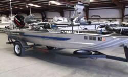 YOUR PACKAGE INCLUDES: 2003 MERCURY 50ELPTO, TRACKER TRAILER, MOTORGUIDE 46#, ANCHORMATES, ROD HOLDERS & 2 EAGLE DEPTH FINDERS - 1992 TRACKER PRO 17 Nominal Length: 17' Stock number: 57744A