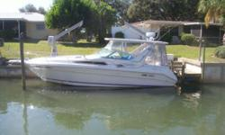 1993 Sea Ray 330 Sundancer 1993 Sea Ray 330 Sundancer REPOWERD WITH FRESH WATER COOLER 2004 496 Mags CE certified 260 Hours. Custom Hard Top. Professionally maintained and ready for Long Range cruising. $50,000 in Re- Power and Hard Top. Please call