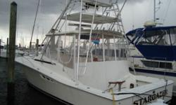 This turn key Luhrs was just hauled, bottom painted and surveyed...IN ABOVE AVERAGE CONDITION. Any noted deficiences were repaired and reinspected.. It is priced well below appraised value. Ready to fish at a moments notice. Loaded with generator,