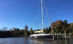 Magnolia is a beautiful 44 Beneteau Oceanis that has been extremely well maintained. Almost new sails, clean gelcoat and newer canvas and cockpit cushion covers is just a start. Check out these features... Furling Genoa 5 Years old Fully battened mainsail