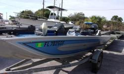 1993 Spectrum Includes 40hp Mercury engine and galvanized trailer. Also a depth finder and trolling motor.