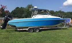 1993 Fountain Sport Fisher 31ft Great Boat! Ready to Fish ! TACO outriggers, Downriggers, All new Garmin electronics. New canvas enclosure. With New Trailer ! Must See !! Hull color: Blue w/ Whit Stock number: b5816