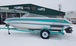 1993 Four Winns 190 Horizon LE ? $8,999 The original upholstery on this immaculate runabout is in great condition. Couple that with the upgraded 5.0L High Output engine (200 HP) with only 99.3 hours on it, making this boat truly one of a kind! What made
