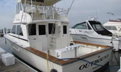 1993 44 Henriques Sportfisherman with 2005 Caterpillar C-12 Diesel Engines / 2000 hours. Many upgrades. Meticulous owner with many upgrades over time. A must see for any serious offshore fisherman! This is not your sunday cruiser! Nominal Length: 44'