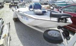 Price just reduced!1993 Lowe 170AW aluminum bass boat 17ft with Johnson 50hp two stroke motor and matching single axle trailer. Package includes 12v trolling motor, dash fish finder, 2 pedestal seats, new cover. View more photos on our website