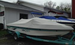 ! CLEAN ! Don't miss this fresh to market nice ski boat at Skipper Buds Cass lake. Boat is in great shape and the engine runs strong. Comes with trailer, cover, Bimini top and a ski jack for wake boarding. You will not find a nicer boat for under 10K