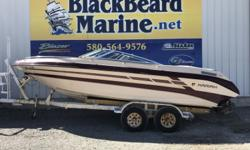 1993 Mariah 235DZ Boat has a 496 fuel injected mercruiser with less than 50 hours. Stock number: C60C393