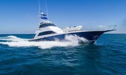 1993 Palmer Johnson 76EB Sportfisherman  Major refit in 2010, rebuilt MAN 1100 HP engines (currently 380 hours SMOH) Two 32KW Norpro generators with only 250 hours. This yacht sleeps 8 owners and guest in 4 staterooms plus crew accomodations.
