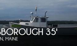 Actual Location: Addison, ME - Stock #057736 - If you are in the market for a lobster yacht, look no further than this 1993 Rosborough 35 Lobster Boat, just reduced to $41,900 (offers encouraged).This vessel is located in Addison, Maine and is in good
