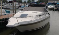 This boat is priced aggressive. All she needs is some TLC. Same owner for the last 20 years. Come check out this 25' express cruiser Beam: 8 ft. 6 in.
