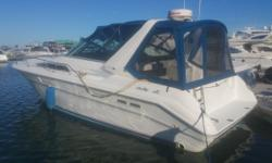 Low hour, clean 33' Cruiser. Boat has been maintained and is in good condition. Trades considered. Engine(s): Fuel Type: Gas Engine Type: Inboard Quantity: 2