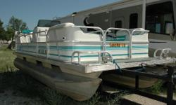 Here it is!! This is your chanceto be on the wateron a pontoon boatwith 75 Mercury horses of raw power for tubing and cruising for next to nothing!!! Sopick up your cellular phoneand BE ON THE WATER!! For more details visit mqmss.com Nominal Length: 20'