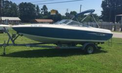 1993 Stingray BowRider 606ZP NEW ARRIVAL - GREAT BOAT Hin: PNYUS202A393 Stock number: B5546