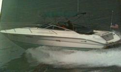 1994 Sea Ray Cuddy Cabin Call Boat Owner Robert 708-214-3051. Description: Bravo I outdrive, new risers & manifolds, AM/FM/CD, anchor, Bimini top, carpet, Coast Guard pack, depthfinder, full gauges, full canvas, hydraulic steerling, mooring cover, Porta