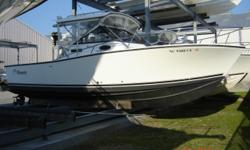 $6,400 PRICE REDUCTION! BRING US YOUR OFFER, OWNER WANTS THIS BOAT SOLD!27' Express Fisherman, Without a doubt one of the best riding boats this company ever built! A great pocket express fisherman with tons af room and accommodations for the whole
