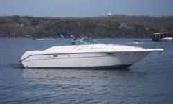 Versatile express with a deep-vhull this boat is in excellent condition for its age and will cut rough water better than any other day boat out there. Ideal for fishing , open air entertaining. This boat is a 30 knots plus boat with these v-drives!!Call