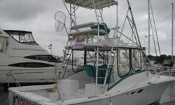 """More Details to come More Details to come More Category: Powerboats Water Capacity: 0 gal Type:  Holding Tank Details:  Manufacturer: Luhrs Corp. Holding Tank Size:  Model: Open Fish Passengers: 0 Year: 1994 Sleeps: 0 Length/LOA: 32' 0"""" Hull Designer:"""