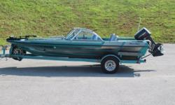 1994 Bass Master Fish N Ski ? Johnson 115HP ? Canvas Top ? Full Mooring Cover ? Boarding Ladder ? Lowrance Fish Finder ? Trolling Motor ? AM/FM CD Clarion Stereo System ? Live Well ? 3 Batteries ? Lowrance Depth Finder ? Painted Tandem Axle Trailer,
