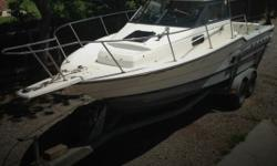 Actual Location: Madera, CA - Stock #080159 - If you are in the market for a walkaround, look no further than this 1994 Bayliner 2352 Trophy WA, just reduced to $22,000.This boat is located in Madera, California and is in good condition. She is also