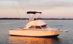 1974 Bertram 28 Flybridge Cruiser 1974 Bertram 28 Foot. 28 Foot engines New Garmin GPS FURUNO fish finder and nav windless anchor ice c tech cooler. Bait well out riggers boat runs good. Penn rod and reels tackle life vests yeti cooler flairs no damages