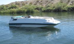 YES FOLKS! THATS RIGHT WE HAVE THIS HIGH PROFORMANCE, UPGRADED 5.7 LTR MERCRUISER MOTOR OUTFITTED ON THE HUGE NAME BRAND CHAPARRAL. FEEL FREE TO INVITE THE ENTIRE FAMILY TO COME ABOARD YOUR HIGH POWERED NUMBER ONE NAME DECKBOAT! THE BEST USED DECKBOAT IS