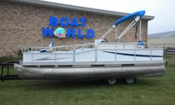 1994 Forester 19' Pontoon & 25HP Johnson Outboard. Motor Runs Great! This Pontoon Features Front Swivel Seats, Wrap Around Bench Seating With Storage And Live Well, Rear Swivel Seats, Bimini Top, 3 Gates Up Front, Table, Multiple Cup Holders,Cover,